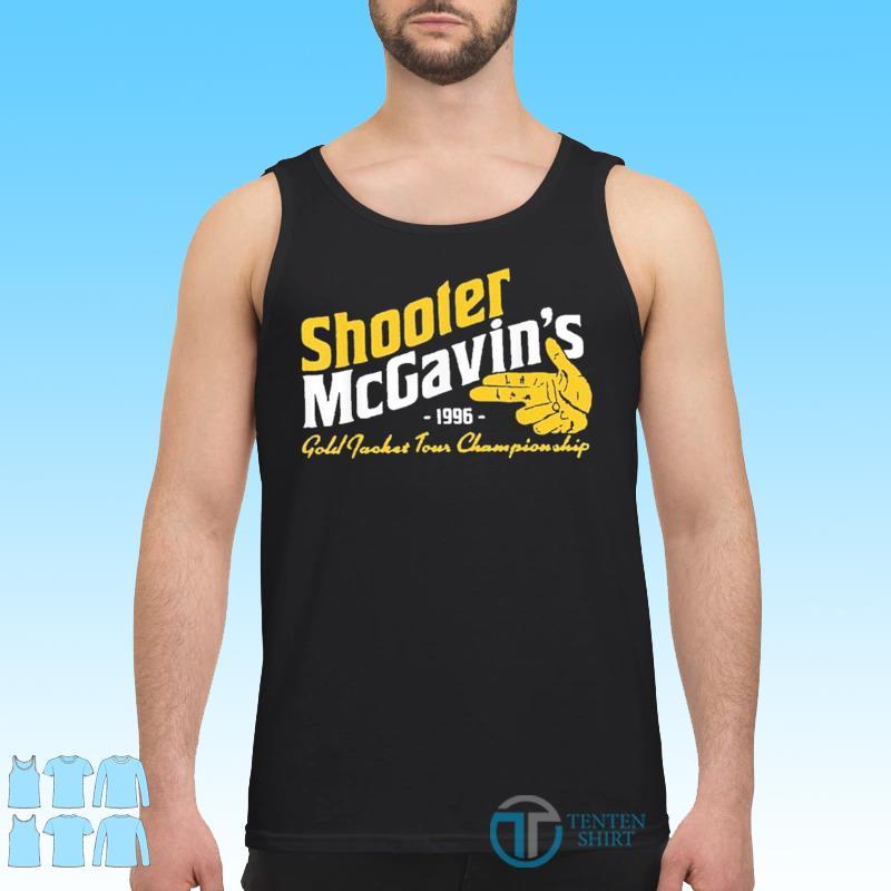 Shooter McGavins Gold Jacket Tour Championship Shirt Tank top