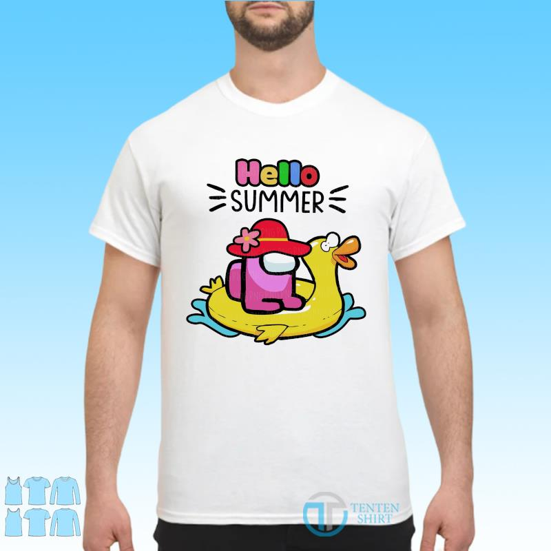 Official Cute Among Us - Hello Summer 2021 Shirt