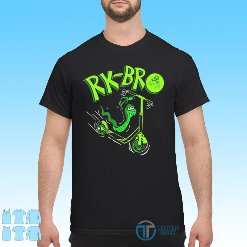 Funny Rk Bro Scooter Shirt