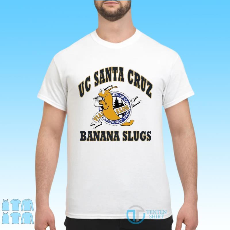 Official Uc Santa Cruz Banana Slugs Shirt